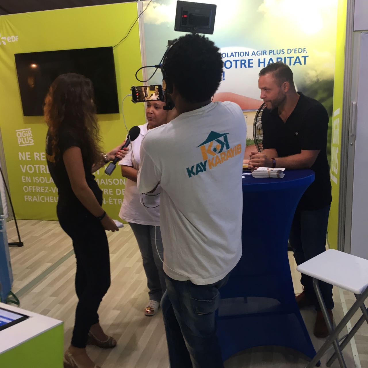 Kay Karayib au Salon de l'Habitat Martinique 2017 avec EDF