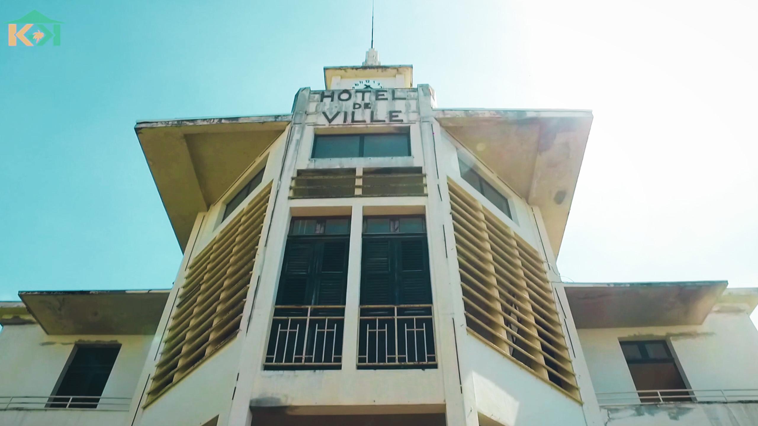 KAY D'ANTAN | HOTEL DE VILLE DE SAINT PIERRE EN MARTINIQUE