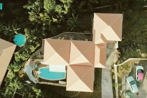 villa colibri drone